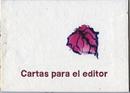 Cartas para el editor